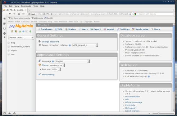 phpMyAdmin-3.5.1-screenshot